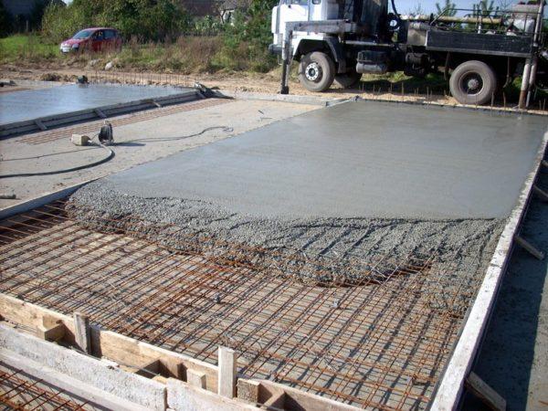 Бетон становится смесь бетонная огнеупорная алакс